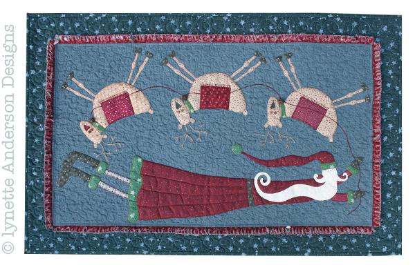 flying santa pattern
