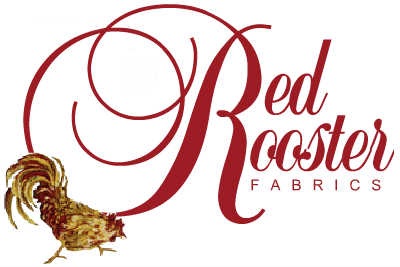 red rooster fabrics from cross patch