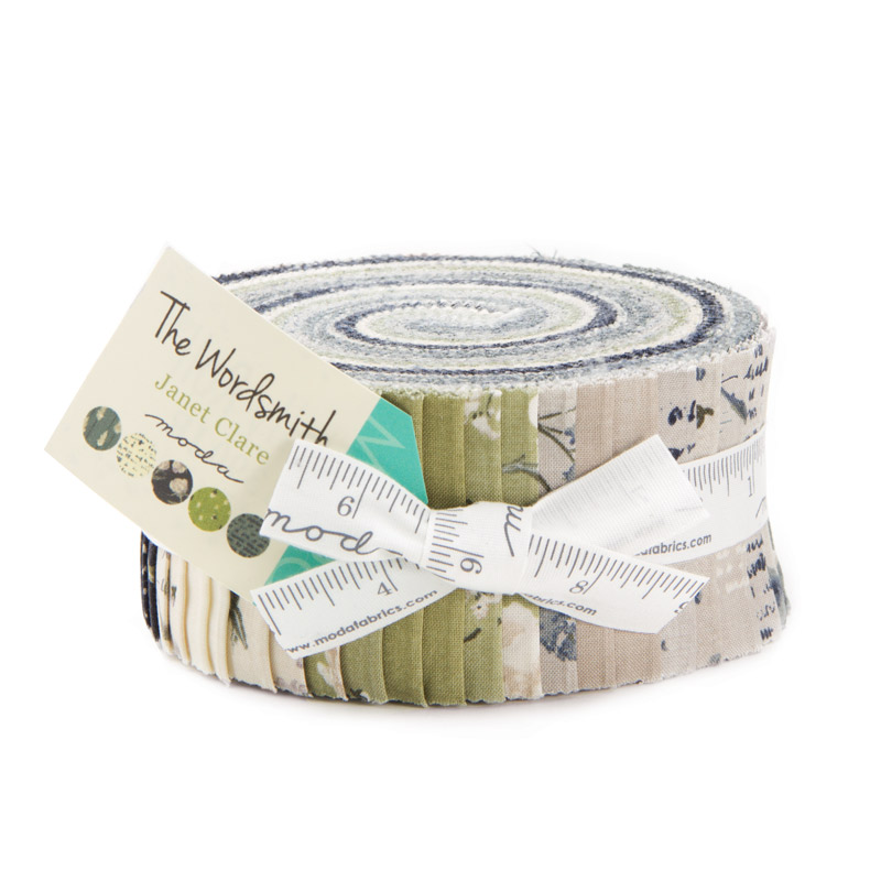 The wordsmith jelly roll by Janet clare