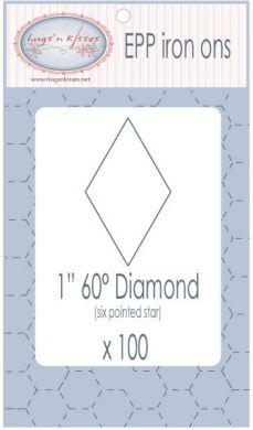 EPP diamonds cross patch