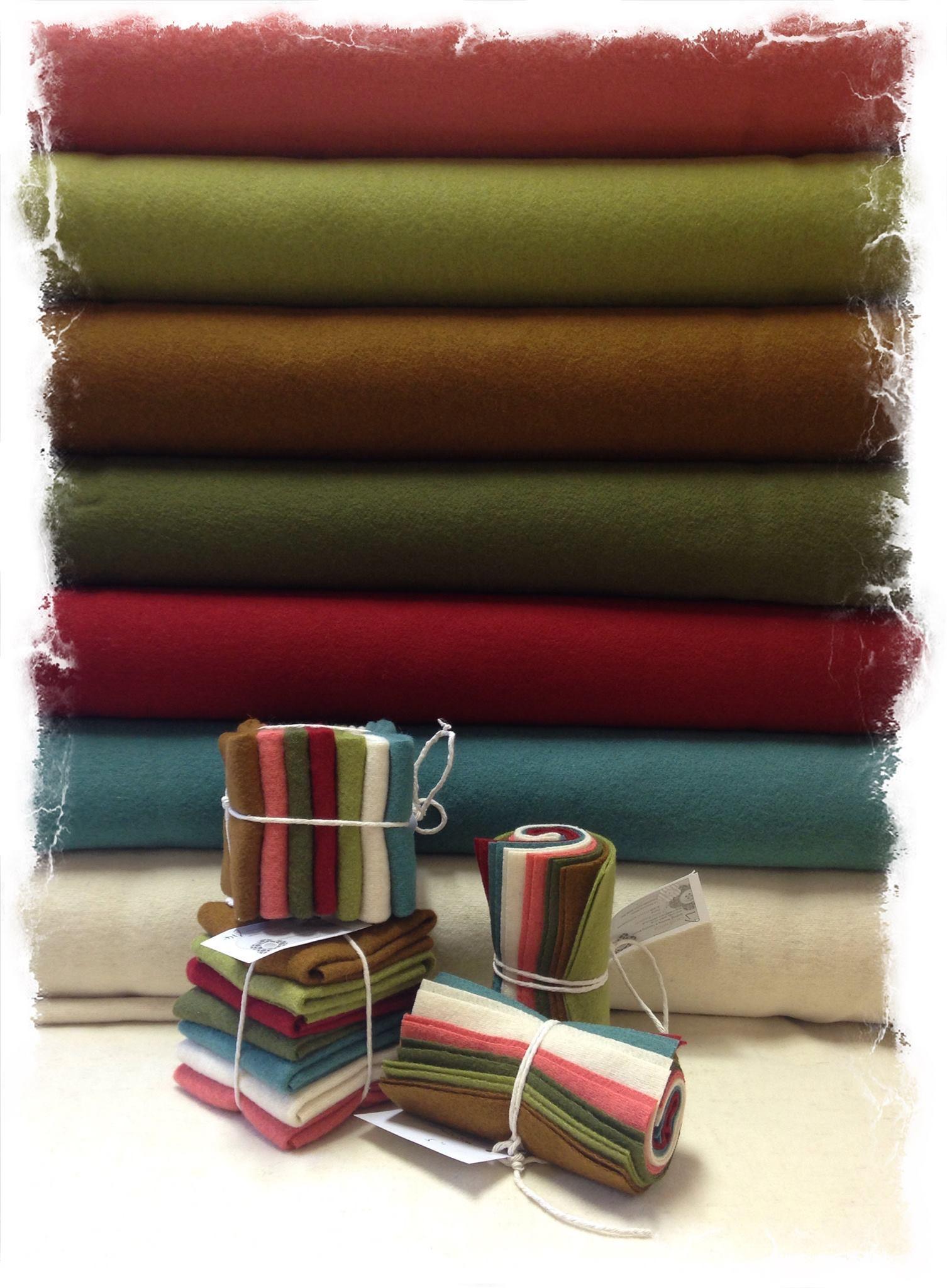 Wool penny rose fabrics leonine Bateman crosspatch