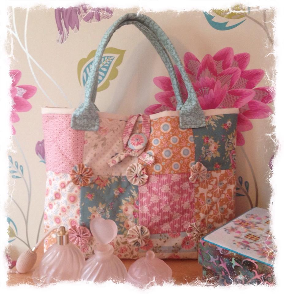 Cross patch Tilda bag kit
