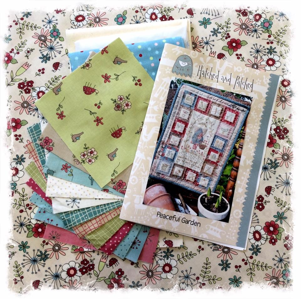 Peaceful garden kit hatched & patched