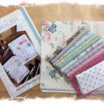 iPad case kit cross patch