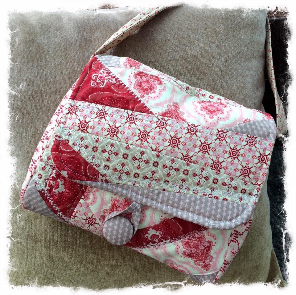 Messenger bag kit cross patch