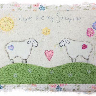Ewe are my sunshine crosspatch