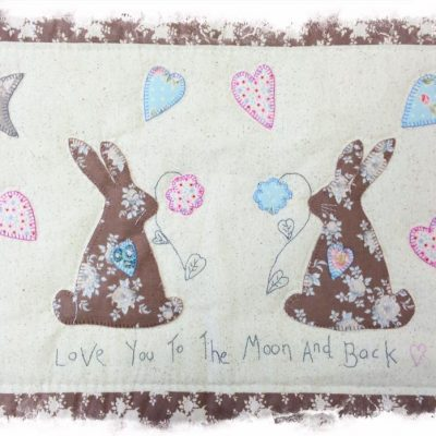 Moon and back pattern