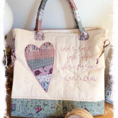 Love to stitch bag