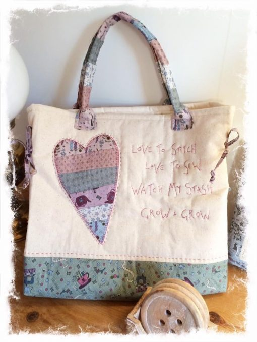Love to stitch bag