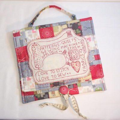 Sewing machine satchel
