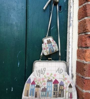 Homespun street bag