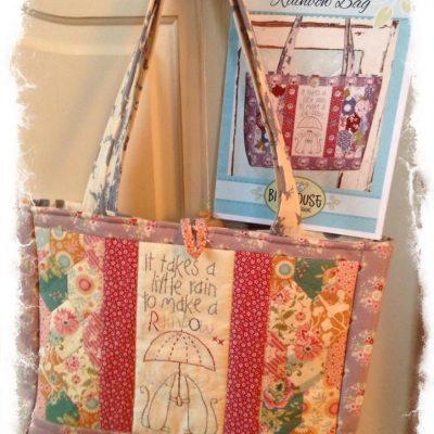 Rainbow bag kit birdhouse designs cross patch
