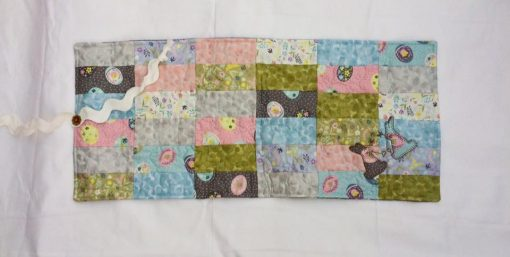 Little bunny mat pattern cross patch