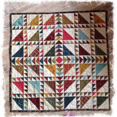 Making waves kit Kim Diehl fabrics simple watnots cross patch