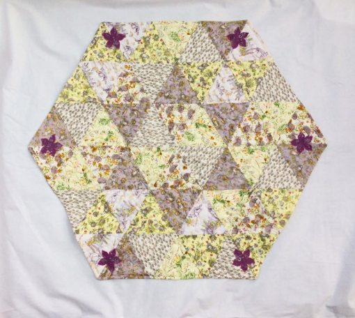 Triangle mat crosspatch