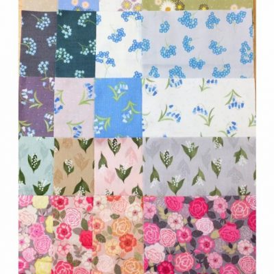 Cross-patch.co.uk, Lewis and irene fabrics, charm pack, flo's wildflowers