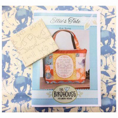 Cross-patch.co.uk, Ellie's tale, the birdhouse patterns