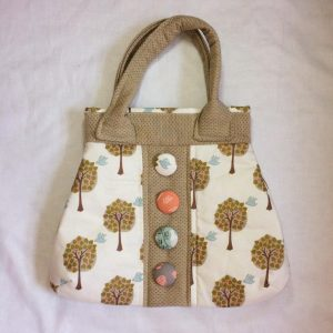 'Let's do Lunch' Little Button Bag Pattern