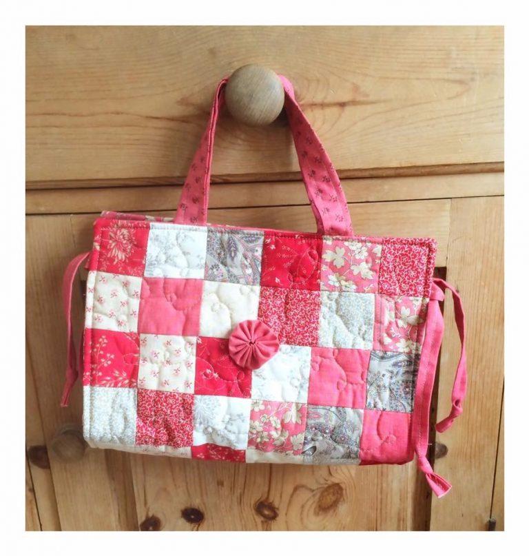 Armchair sewing bag pattern