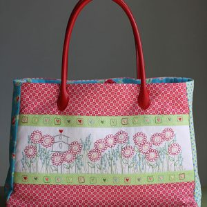 Hearts and Happy Flowers Bag