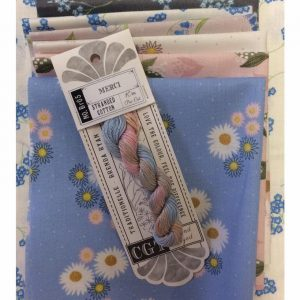 Cottage Garden Thread/fabric pack 3