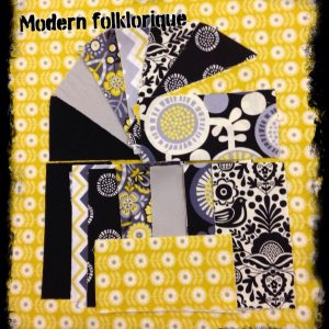 Makower Modern Folklorique -candy bar