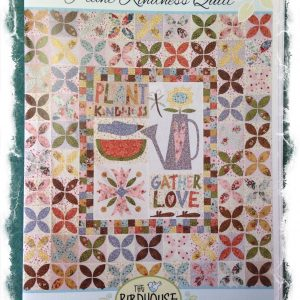 Plant kindness quilt pattern