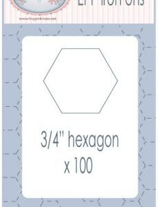 "3/4"" EPP Hexagons"