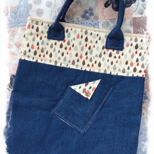 Uptown tote bag pattern