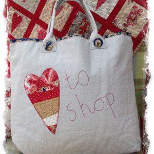 Love to Shop Bag Pattern